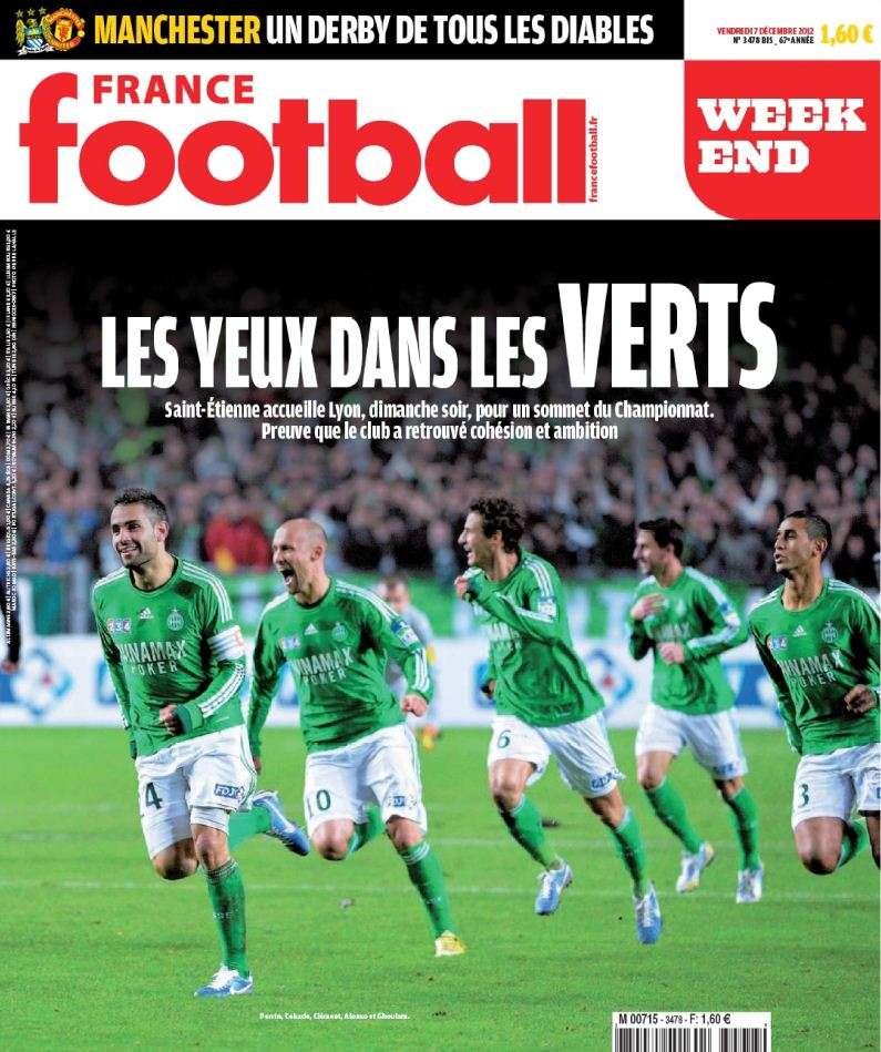 France Football Week-end - 7 Décembre 2012
