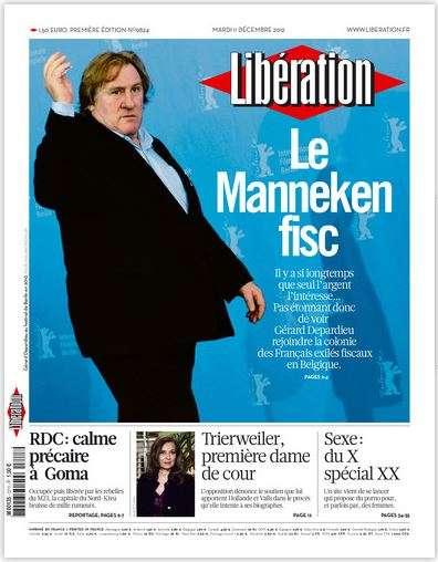 Libération Mardi 11 décembre 2012