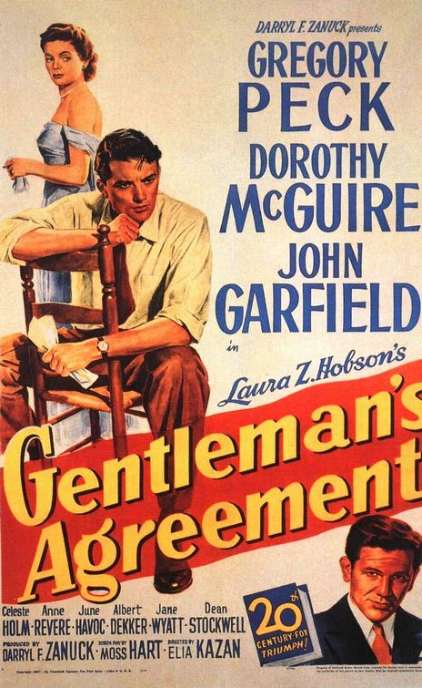 gentlemansagreementz Elia Kazan   Gentlemans Agreement (1947)