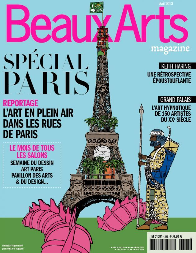 Beaux Arts N°346 Avril 2013