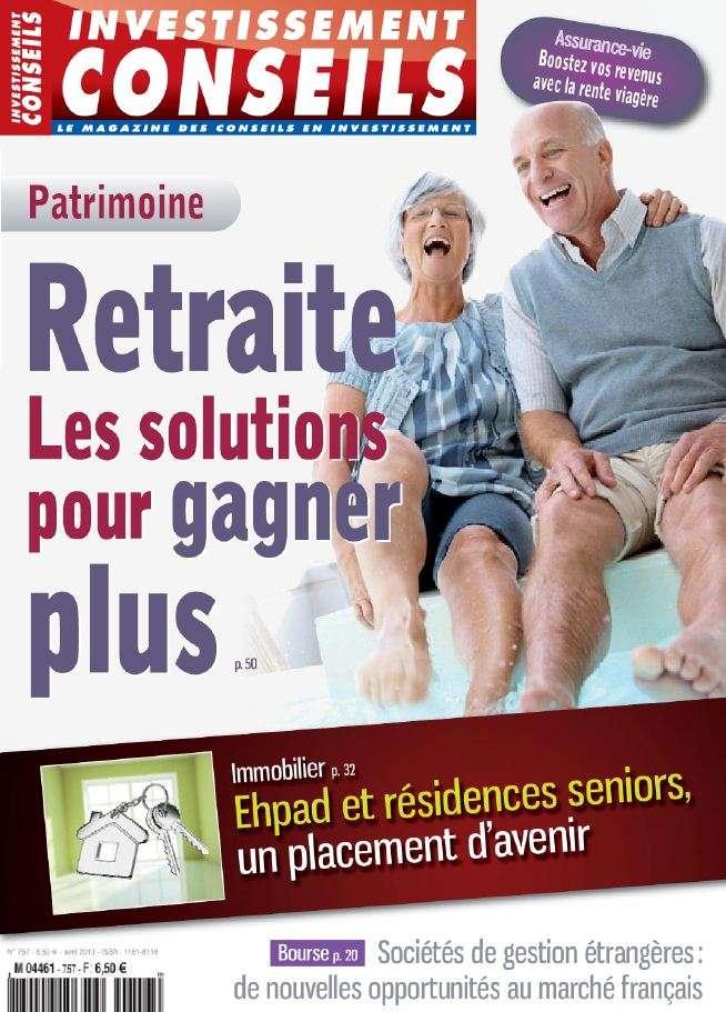 Investissement Conseils N°757 Avril 2013