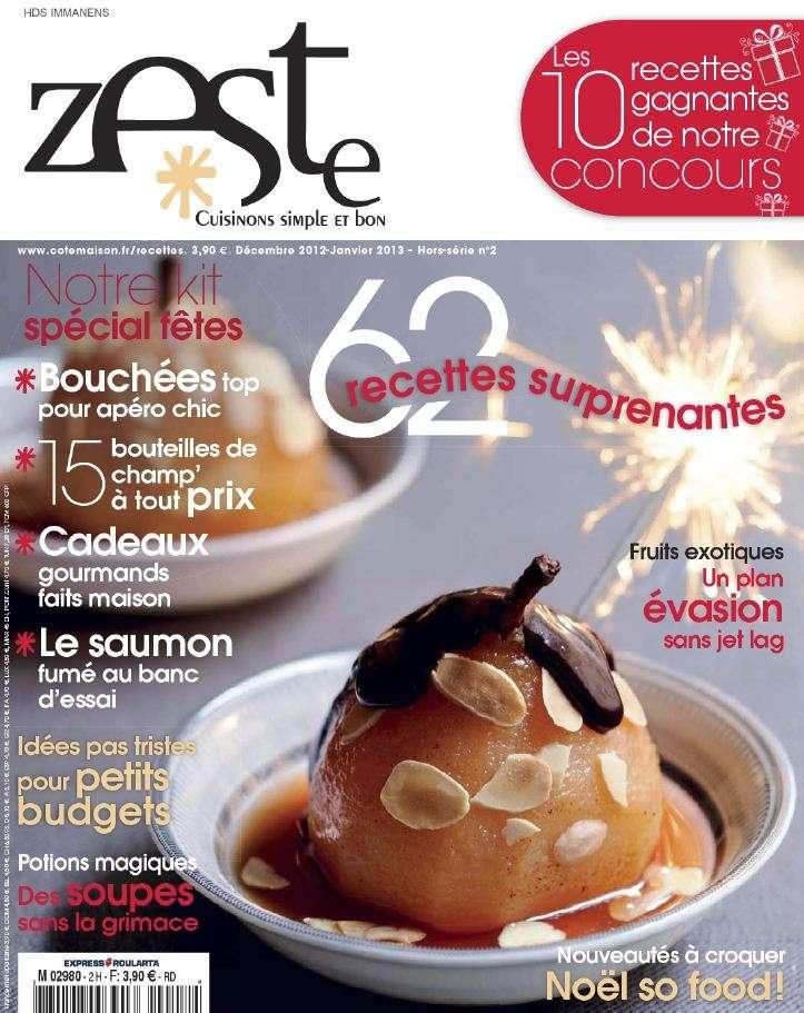 Zeste Hors-Série 2 Décembre 2012 Janvier 2013