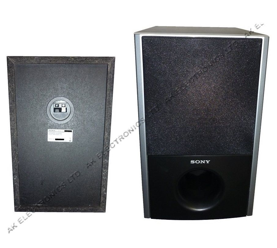 SONY PASSIVE SUB SUBWOOFER for DVD BLU-RAY 3D HOME CINEMA ...