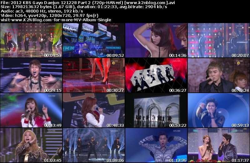 [Show] 2012 KBS Gayo Daejun 121228 [HD 720p]